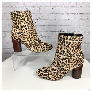 Sam Edelman Leopard Print Bootie